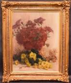 Valerie Lefebvre French born 1902, Still life of spring