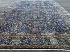 Semi Antique Persian Palace size Blue Tabriz Rug 20 x