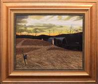 Thomas Kerry (New York 20/21st century) oil on canvas,