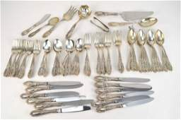 Towle Sterling Silver King Richard Flatware.  12 -
