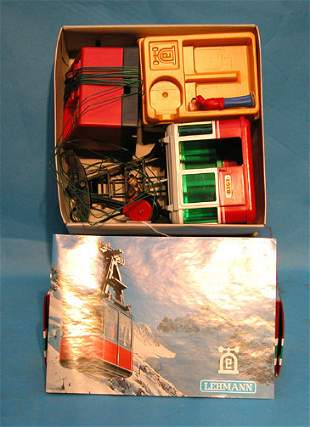 """Lehmann"", Rigi 900 cable car with two figures, min"