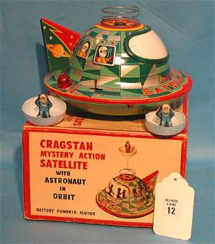 """Cracstan"" Japan, mystery 1950's action, battery op"