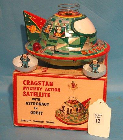 "12: ""Cracstan"" Japan, mystery 1950's action, battery op"