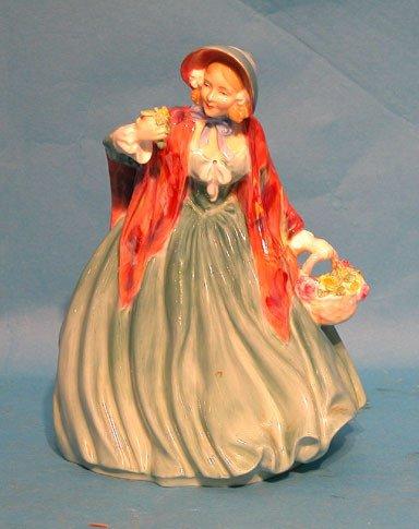 "17: (2) Royal Doulton figurines, ""Lady Chapman"" HN1948"