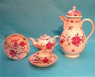 Tea service 20 pcs., Meissen mark, incl: (9) Demita