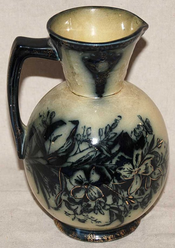 1015: Royal Art Pottery Antique vase, crown atop words