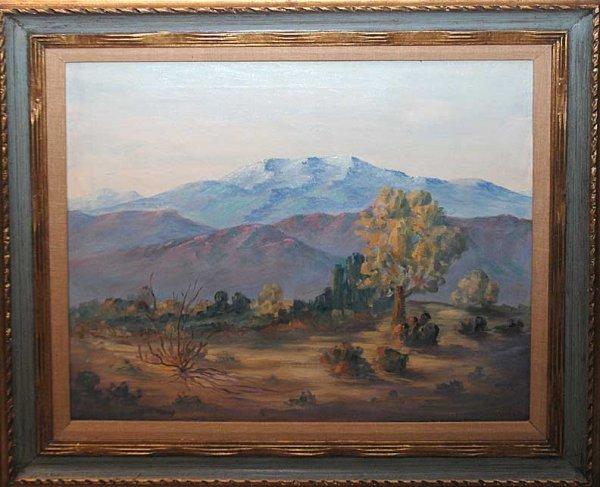 1034: Samuel Hyde Harris (American 1889 - 1977) oil on