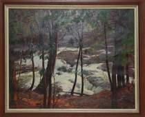 65: John Newton Howitt, (1885-1958), American, oil on c