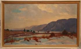 245: John Newton Howitt, (1885-1958), American, oil on