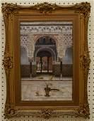 T Liger-Hidalgo (Spain 20th century) oil on canvas,