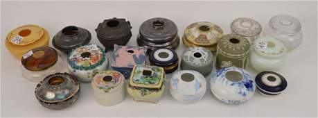 Collection (20) Assorted porcelain 19th c./early 20th