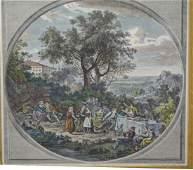 "Francesco Bartolozzi (Italian 1728-1815), ""Rural"