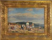 Josef Fiala (CZECH, 1882–1963) oil on canvas on board,