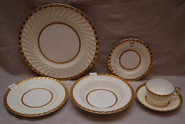 "1: 60 pieces of Minton ""Embassy""  dinner service,  incl"