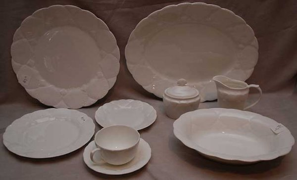 "7: 44  pieces of Wedgwood  ""Oceanside""  incl;: 8 dinner"