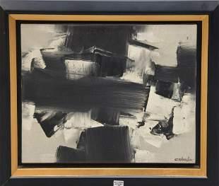 COLOMBA, 20th Century, Untitled Acrylic on canvas,