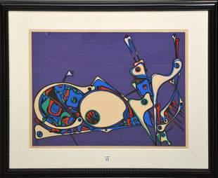 Jose Maria Mijares (Cuban 1921 – 2004) Lithograph in