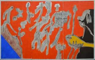 Sacha Tebo (Haitian, 20th Century b. 1934)  Untitled,