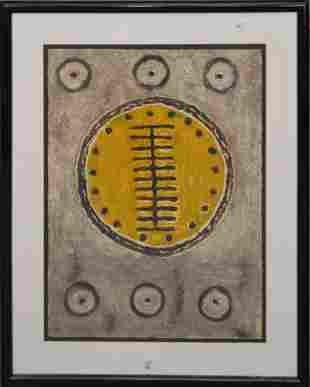 Miguel Cubiles (Cuban, 20th Century b. 1937)  Untitled,