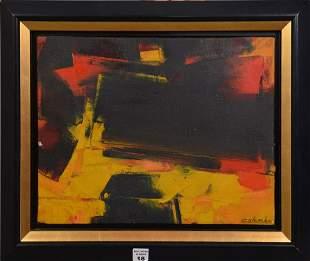 COLOMBA, 20th Century Untitled, Acrylic on canvas,