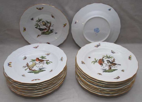 4: 20 Herend plates, 8""