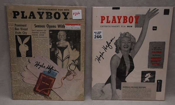 266: Playboy 1st Issue, (vol 1 - no.1) 1953,  with Mari