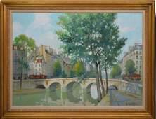CONSTANTINE KLUGE (FRANCE/RUSSIA, 1912-2003) Le Pont