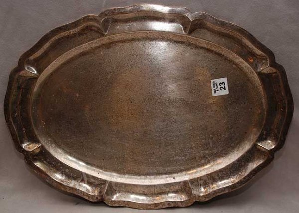 "23: Mexican sterling 925 tray, 40oz, 18""L x 13""w"
