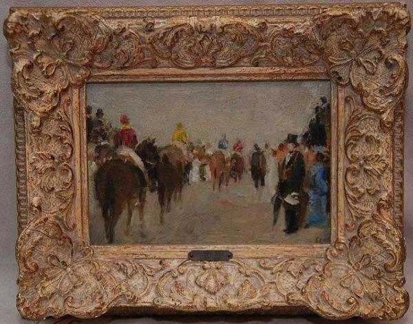 65: Gabriel Spat, 1890-1967, USA, oil on canvas board,
