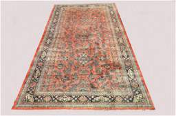 Semi Antique hand made Persian palace size Rug /