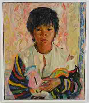 Luigi Corbellini (Italian 1901 - 1968)  oil on canvas