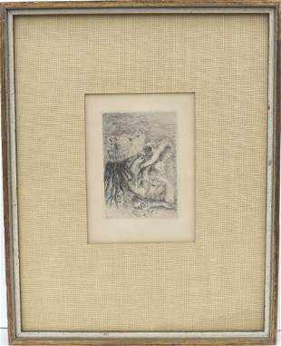 PIERRE AUGUSTE RENOIR, (France, 1841-1919), Original