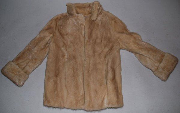 """14: Fur coat, """"Martin Victor Furs"""", """"Genuine Alaskan Fu"""