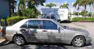 174 1997 S 420 4 door Mercedes Benz sedan  platinum