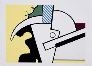 Roy Lichtenstein 1923–1997 Bull Head Series - 1973,