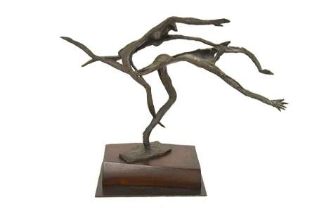 LEON UNDERWOOD (BRITISH 1890-1975) IDEAS - 1959, bronze