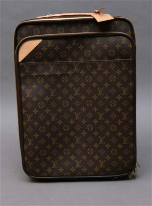 Louis Vuitton Soft Sided Suitcase, Pull out Handle,