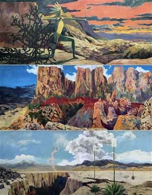 Earl Staley (American b. 1938) Contemporary KING SHAMAN
