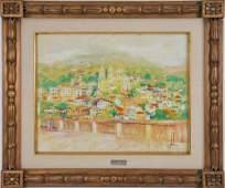 Edna Glaubman (American 1919 - 1986) Landscape