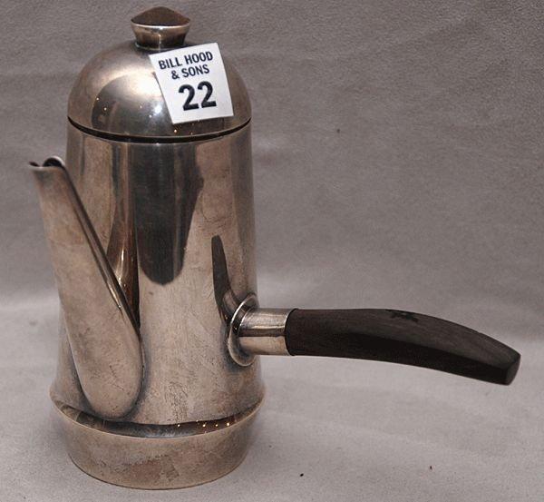 22: Mexican Spratling silver teapot w/ handle 14oz