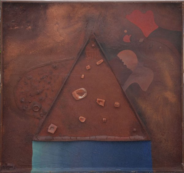 157: Josep Guinovart Spanish Modern Abstract Compostion