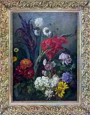 Ludwig Adam Kunz (AUSTRIAN, 1857–1929) Oil on Canvas,