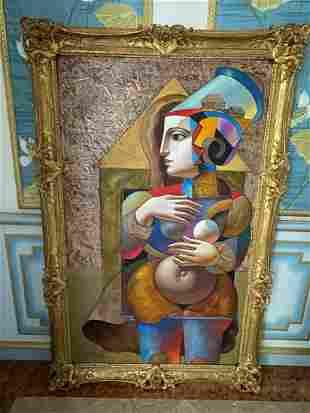 Oleg Zhivetin (RUSSIAN, 1964) Oil on Canvas, Modern
