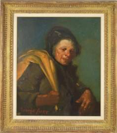 George Benjamin Luks (American 1867 - 1933) THE RAG