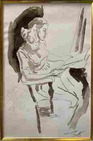 Thomas Hart Benton (AMERICAN, 1889–1975) SUNDAY PAPER -