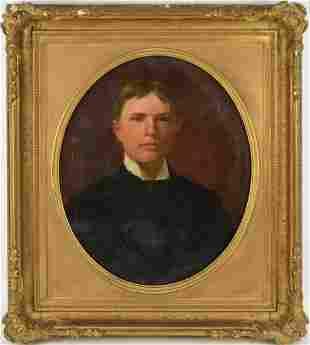 William Thomas Mathews (AMERICAN, 1821–1905) Portrait