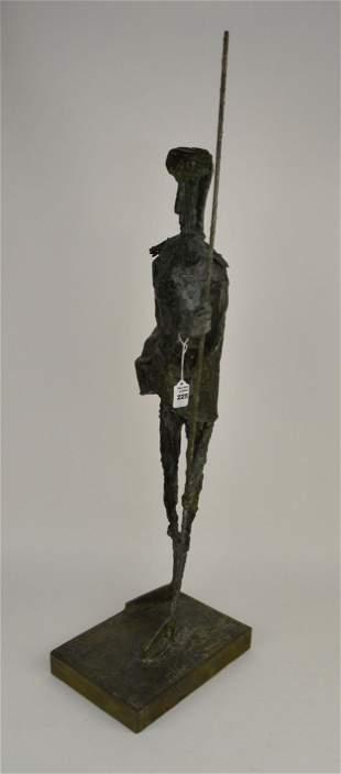 Kallem, Herbert Bronze Abstract Figural Sculpture -
