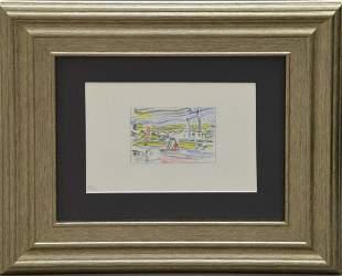 Roy Lichtenstein (American, 1923-1997) - Lithograph of