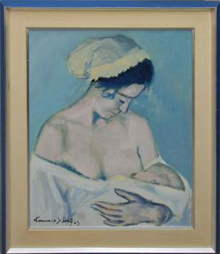Francisco Sillue (Spain 1936) oil on canvas,