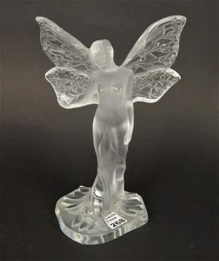 Lalique Crystal CHRYSALIDE FAIRY Figure - Lalique
